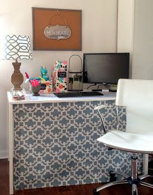 Does your desk look like this underneath?      Looking for an instant way to hide your 'under desk' clutter?          I have a small work s...