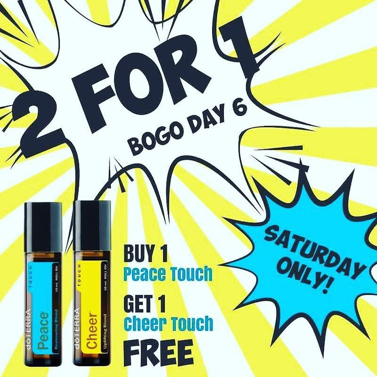 For the last BOGO this week buy a Peace Touch  ($18.25) and get a FREE Cheer Touch roller ($16.25)! . If you haven't tried the emotional oils yet now is your chance! Everyone in our home uses them and LOVES both of these oils so very much! . Peace  is our go-to for calming especially when someone is feeling anxious scared worried overwhelmed or stressed out!  It was amazing to use when my daughter was 1 1/2 and had major separation anxiety when I dropped her off at school in the mornings…