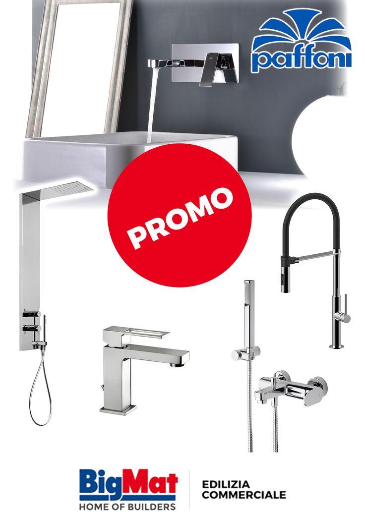 PROMO PAFFONI su tutte le linee di rubinetteria, per bagno, cucina, vasca e doccia. Scopri le promozioni sul nostro store online.