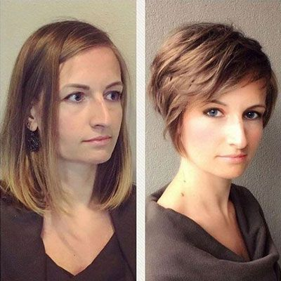 62 Popular Short Hairstyles for Fine Thin Hair ( 3 Tips for CRAZY Volume) #hair #love #style #beautiful #Makeup
