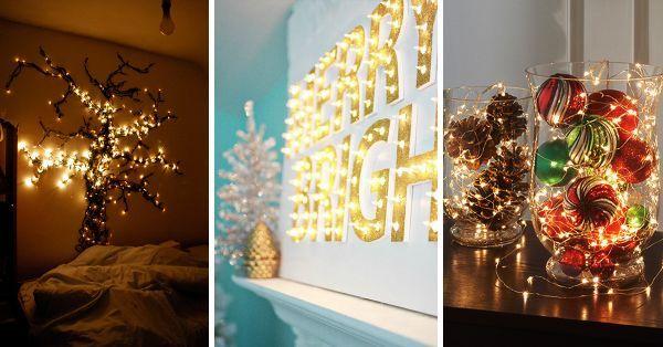 50 Trendy and Beautiful DIY Christmas Lights Decoration Ideas Curtis Stinnett