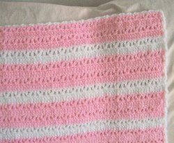 Double Crochet and V's Baby Afghan | FaveCrafts.com