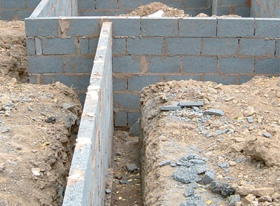 12 best images about archive construction trades for Concrete foundation types