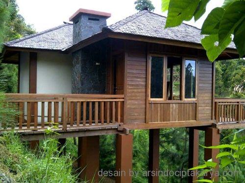 70 Desain Rumah Kayu Minimalis Sederhana dan Klasik | Desainrumahnya.com