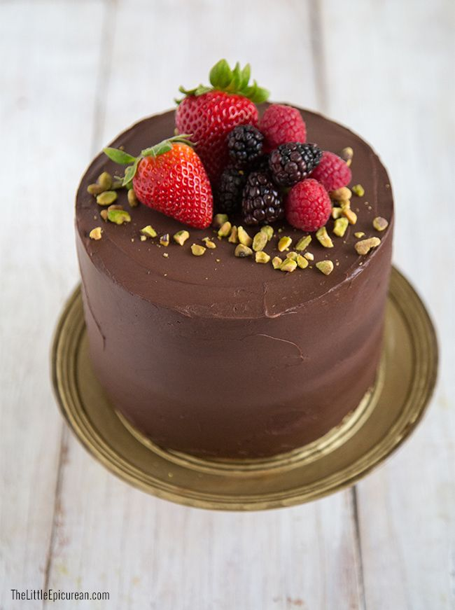 Celebration Chocolate Cake (The Little Epicurean)