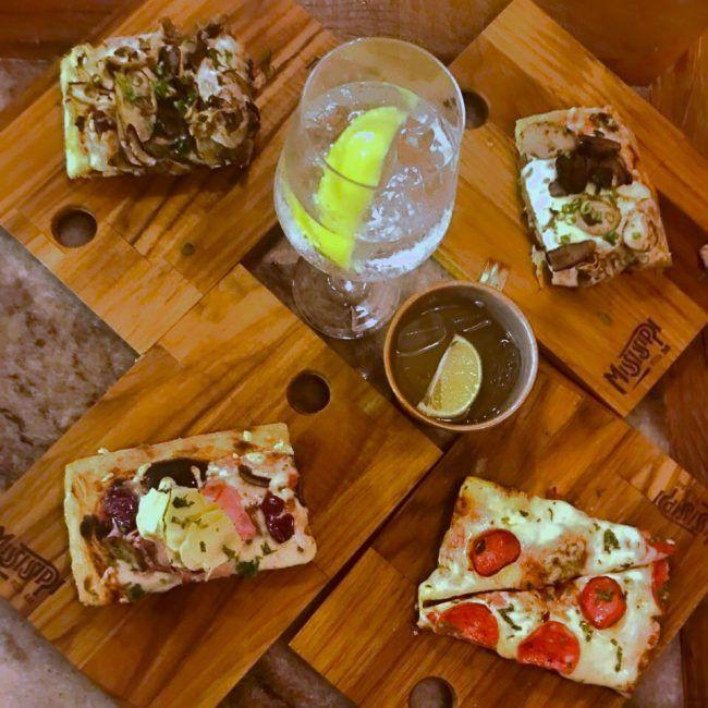Mississippi Música boa e pizza de qualidade no ambiente descolado do Mississippi Pizza Bar