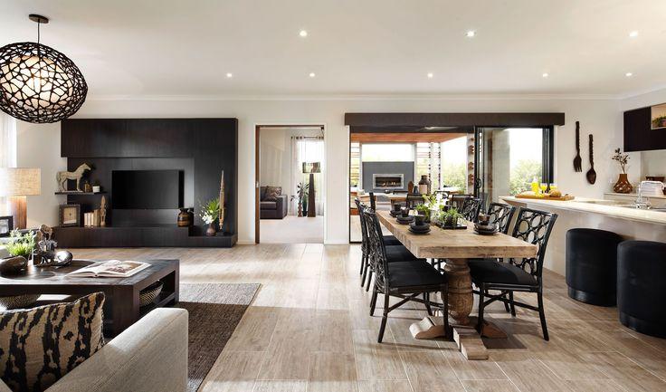 Carlisle Homes - Thompson 35 Living, Rumpus, Dining and Kitchen