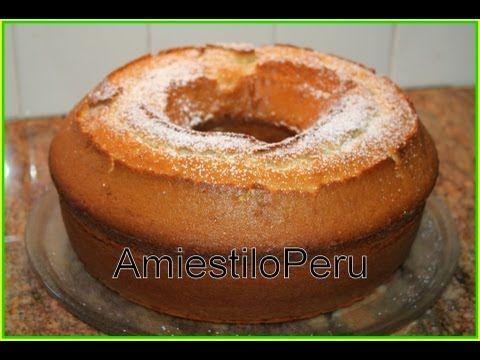 ▶ CAKE BASICO_MANTEQUILLA VAINILLA 2011 - YouTube