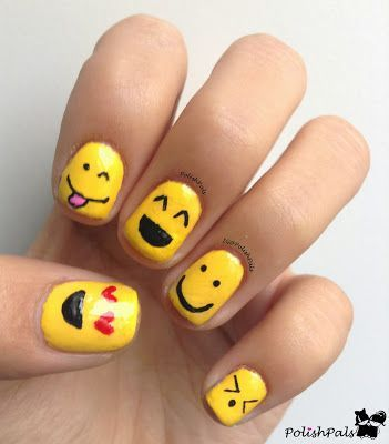 cool Polish Pals: S is for Smiley Face by http://www.nailartdesign-expert.xyz/nail-art-for-kids/polish-pals-s-is-for-smiley-face/