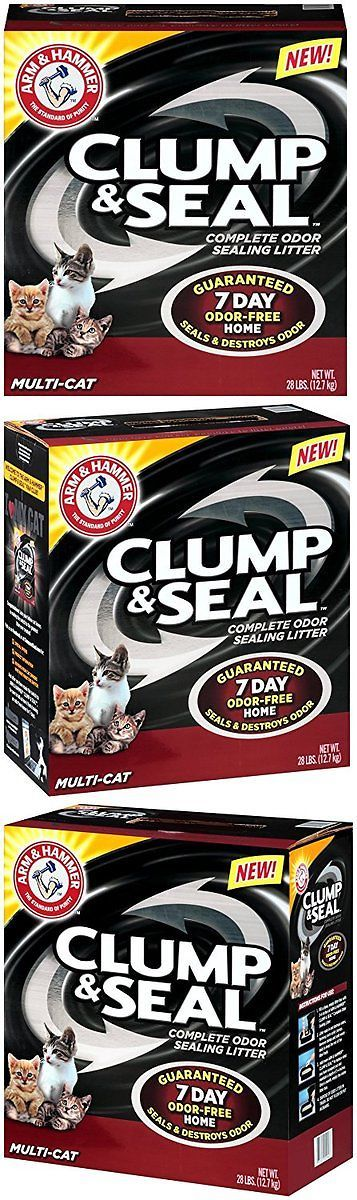 Litter 116363: Arm And Hammer Clump And Seal Litter, Multi-Cat, 28 Lbs -> BUY IT NOW ONLY: $33.98 on eBay!