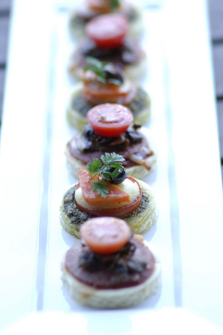 Pizza Canape - Crave Catering