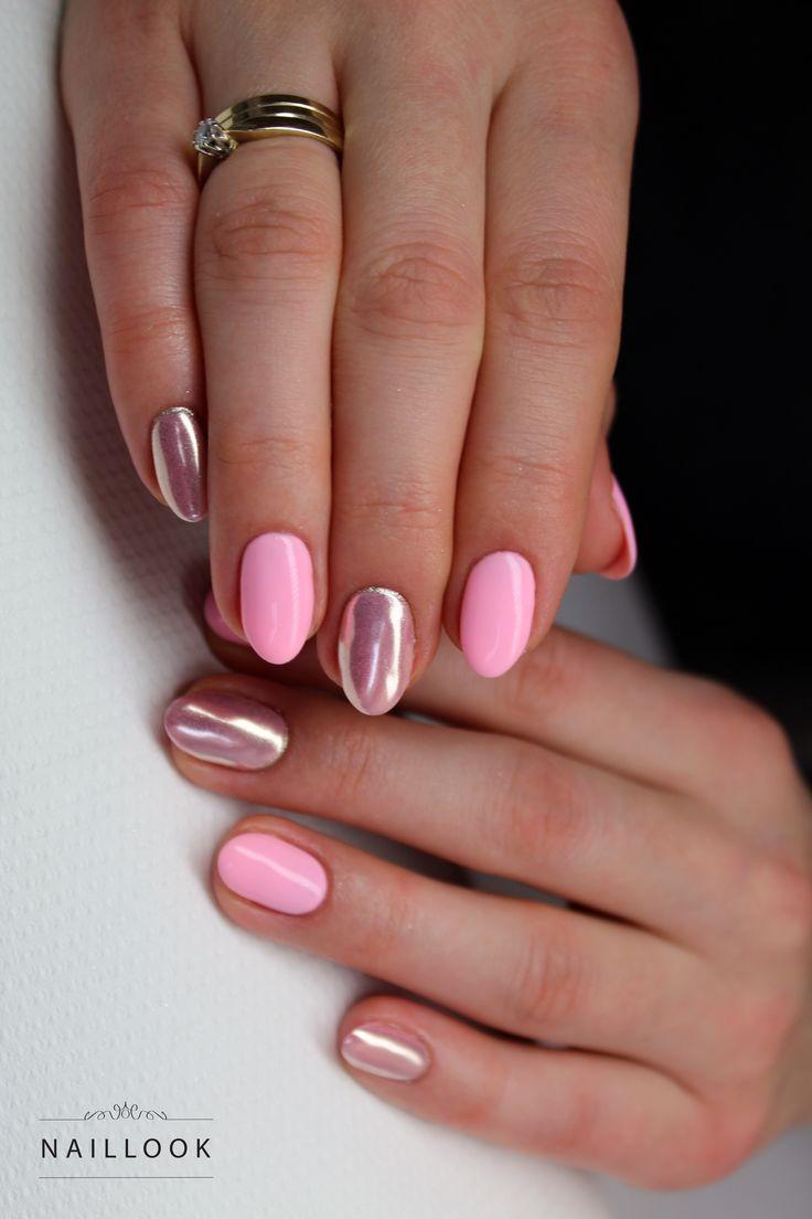 #nail #nails #paznokcie #glamour #manicure #mirrornails #chrom