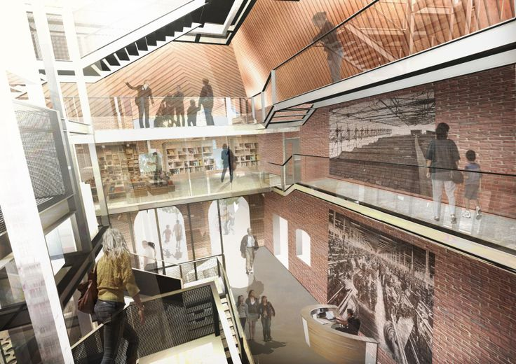 Ditherington Flax Mill Maltings in Shrewsbury wins Heritage Lottery Fund Support / FCB Studios