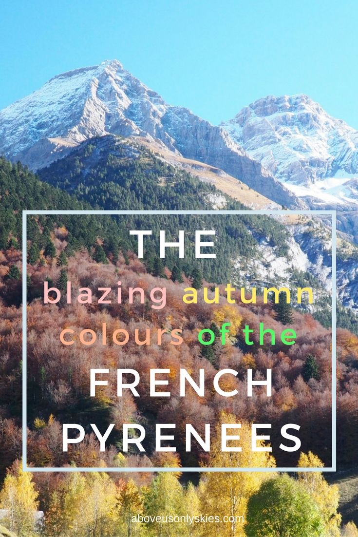 Glorious weather, no crowds and autumnal scenery to die for - just three reasons to visit the French Pyrenees in October...