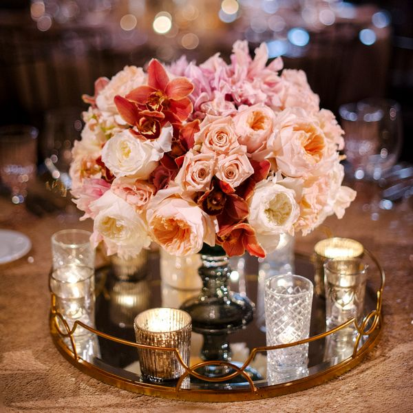 Gold Wedding Centerpiece Decorations: Best 25+ Pink Centerpieces Ideas On Pinterest
