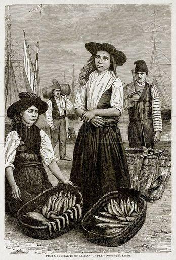 Fish Merchants of Lisbon--Types