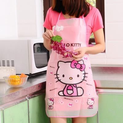 Cute Characters Apron Kit - Waterproof Kitchen Aprons For Men And Women