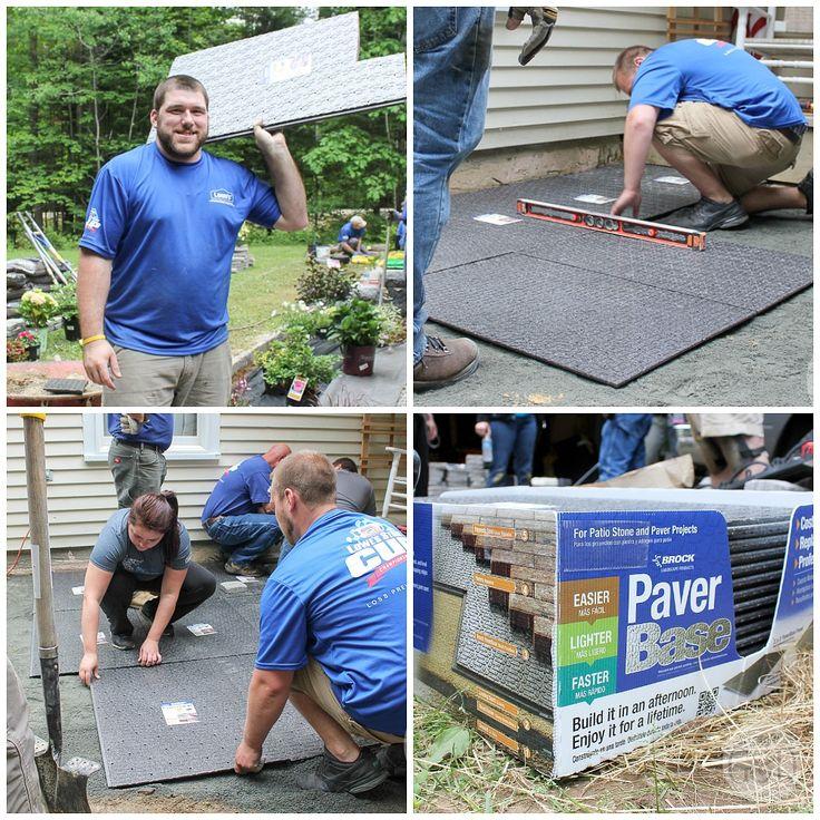 Installing Paver Base Panels- AN innovative alternative to Loads of PAVER BASE SAND