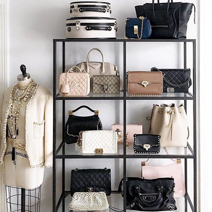 Bag display #goals #interiorinspo #bags