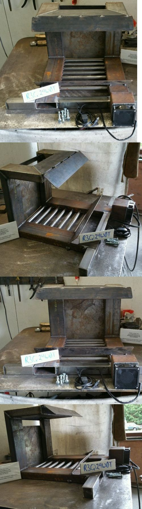 Andirons Grates and Firedogs 79648: R3q Heat Exchanger Fireplace Grate Furnace Blower Heatilator Fireback Heater Raw -> BUY IT NOW ONLY: $770 on eBay!