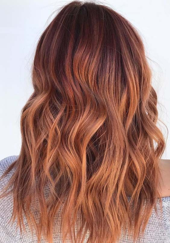 20 Best Copper Red Hair Colors Amp Hairstyles For 2018