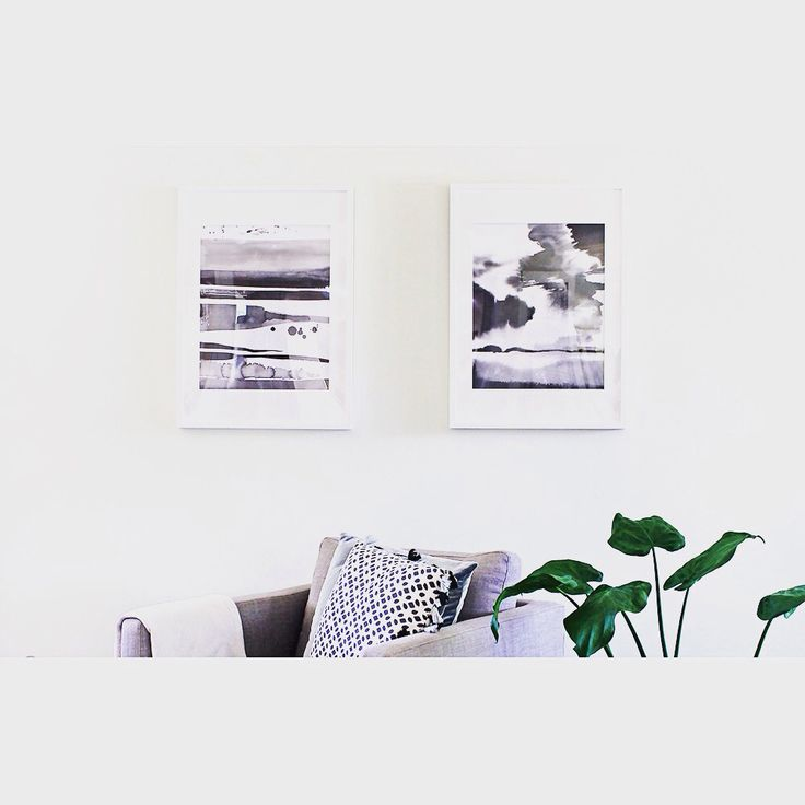 W A L L  A R T   Love the dreamy monochrome watercolour prints available instore at the moment! A4 $30.00 • A3 $45.00  Shop   http://daisychainstore.com.au/collections/artwork