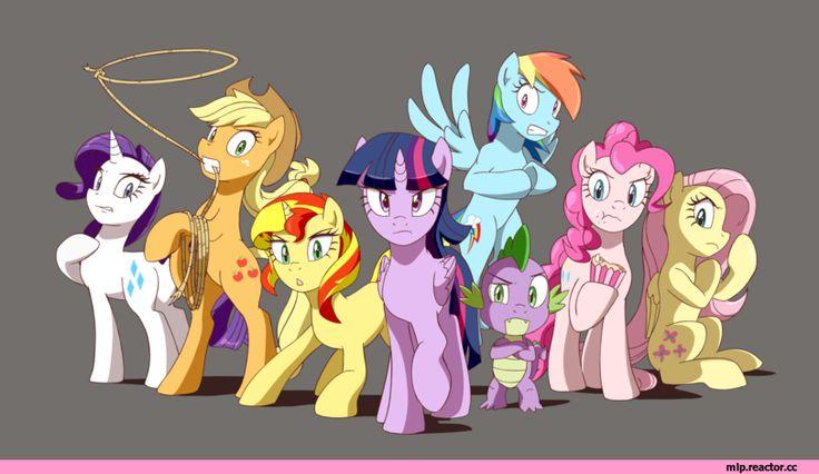 my little pony,Мой маленький пони,фэндомы,Rarity,Рэрити,mane 6,Applejack,Эпплджек,Sunset Shimmer,Сансет Шиммер,minor,Twilight Sparkle,Твайлайт Спаркл,Rainbow Dash,Рэйнбоу Дэш,Spike,Спайк,Pinkie Pie,Пинки Пай,Fluttershy,Флаттершай,mlp art