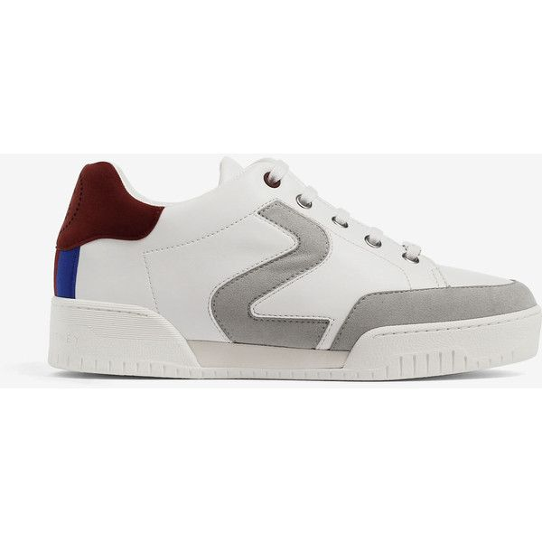 Stella Mccartney Stella Mccartney Stella Sneakers ($339) ❤ liked on Polyvore featuring shoes, sneakers, white, white trainers, stella mccartney sneakers, stella mccartney, white sneakers and stella mccartney shoes