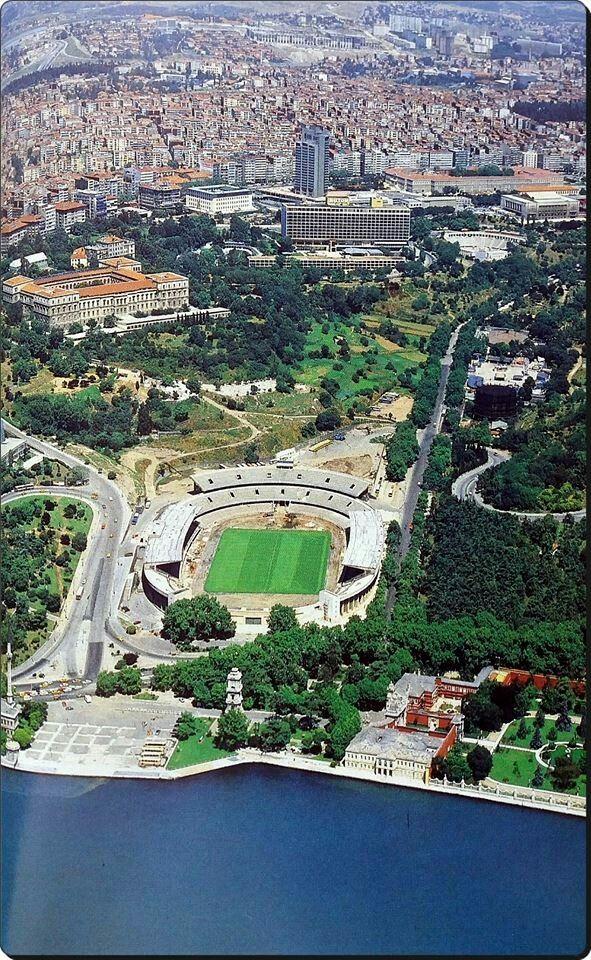 1980 ler. İnönü stadyumu