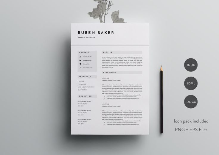 94 best Resumes u2013 grab the job images on Pinterest Resume - baker resume