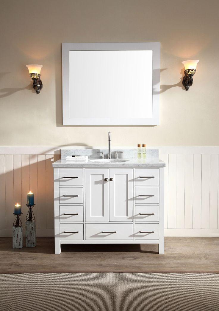43 Inch Bathroom Cabinet