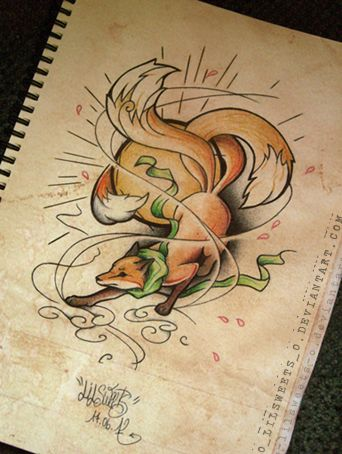 Kitsune inspiration by *o-LilSweets-o on deviantART