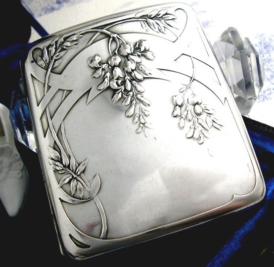 Edwardian art nouveau cigarette case https://www.artexperiencenyc.com/social_login/?utm_source=pinterest_medium=pins_content=pinterest_pins_campaign=pinterest_initial