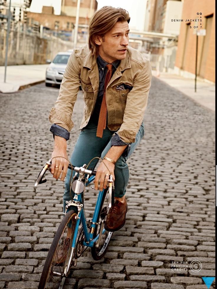 Lannister always rides his bike.