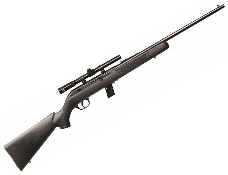 Savage Arms Auto .22lr Rifle 64F or 64FXP w/ 4X15 Scope