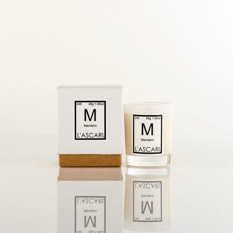 Mandarin. Shop now at The Candle Library. L'Ascari candles are handmade in Australia using 100% soy wax.