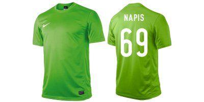 Koszulka piłkarska NIKE PARK V senior z nadrukiem
