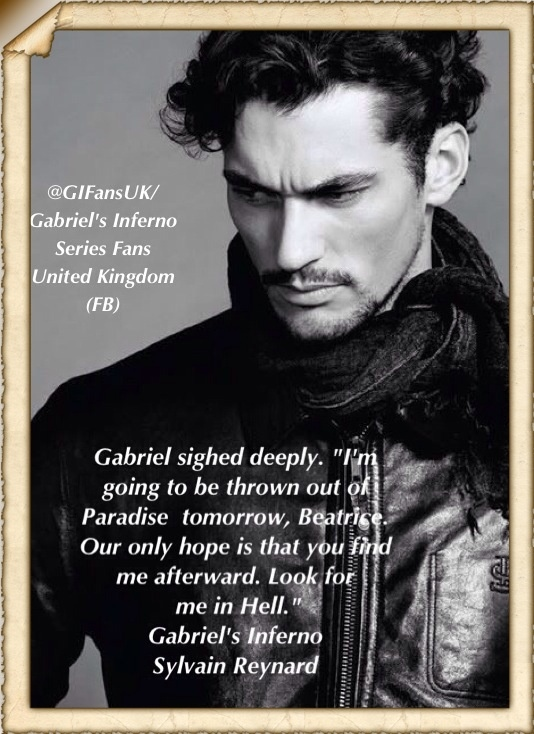 Gabriel to Julianne in the orchard …   Gabriel's Inferno by Sylvain Reynard