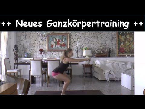 Ganzkörper Workout für zuhause | Neues Ganzkörpertraining Bauch Beine Po...