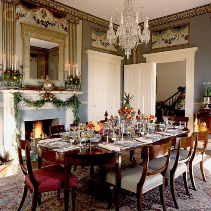 Kitchen Table Decorations For Christmas: 25+ Unique Christmas Dining Rooms Ideas On Pinterest