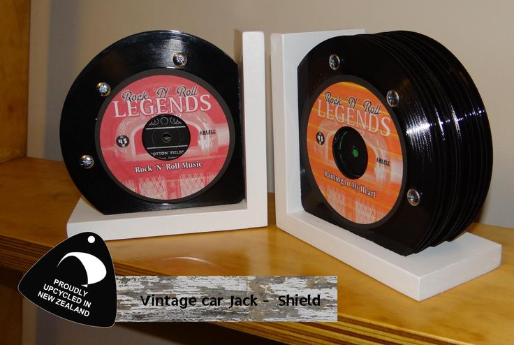 Classic up-cycled records. Solid Industries, Royal Art Furniture, upcycled