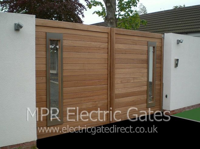 Contemporary electric gates - Google Search