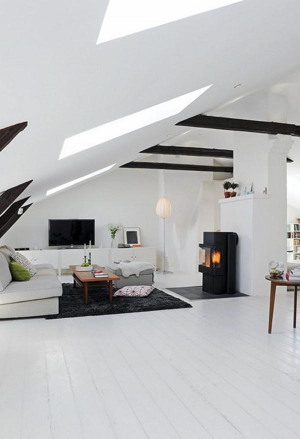 Scandinavian Duplex Apartment Living Room Area U2013 Interior Design Pictures