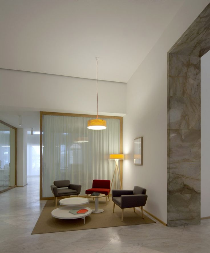 Matteo Thun & Partners : Interior design : UniCredit branch Verona
