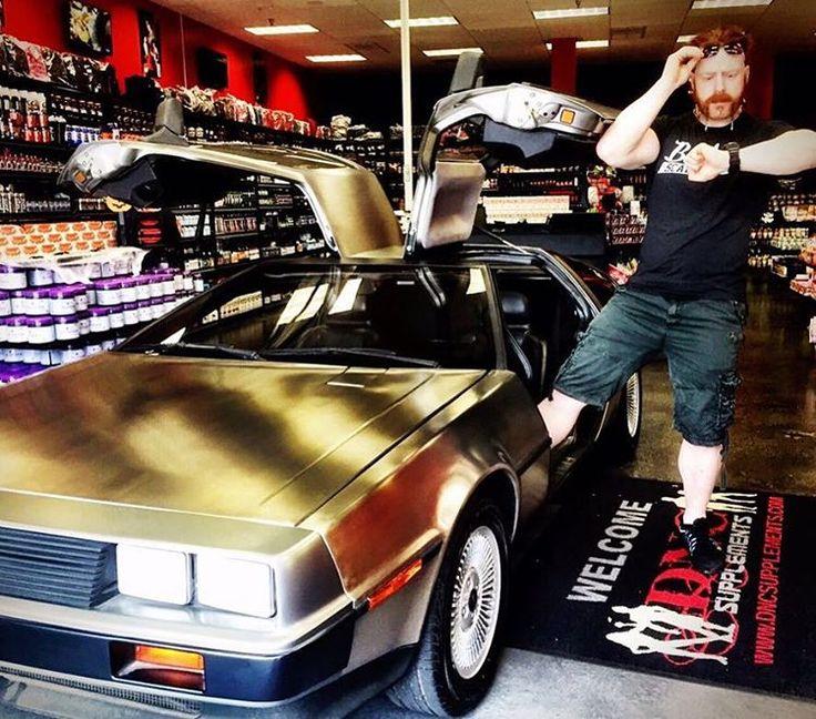 "#21October2015 #BackToFutureDay"" Sweet car Sheamus"