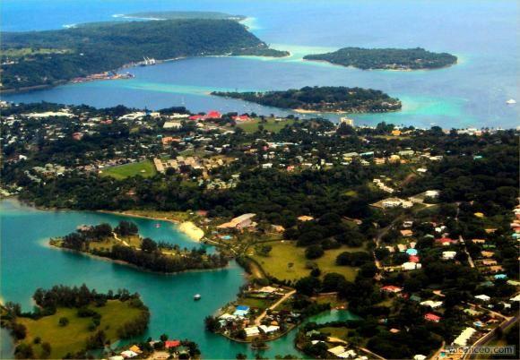 vanuatu port vila   Photo Port-Vila capitale du VANUATU sur l'île d'EF (...) - VANUATU ...