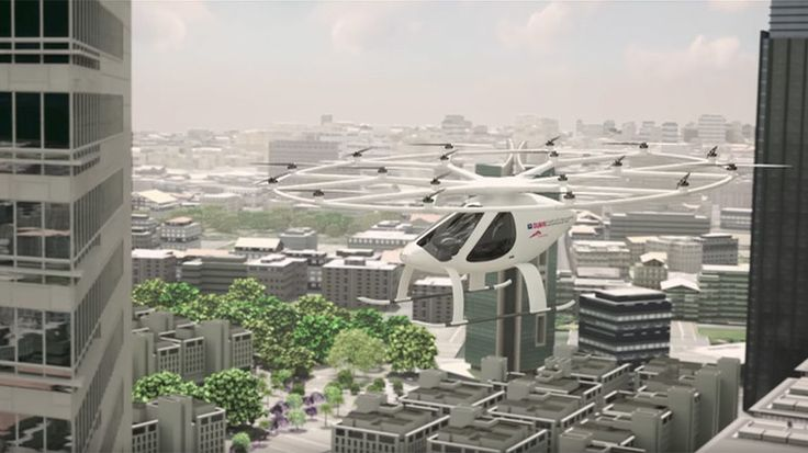 Driverless taxi drone test launched in Dubai (VIDEO)