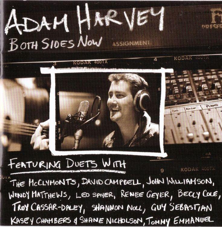 Adam Harvey Both Sides Now Cd Duets Inc. Kasey Chambers, Guy Sebastian