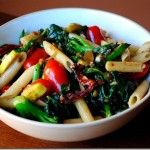 Vegetable Pasta with Homemade Balsamic Vinaigrette