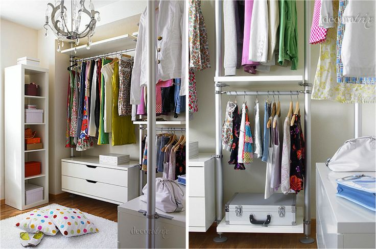 stolmen system from ikea for walk in closet design my